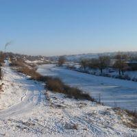 Вид на річку, Новоукраинка