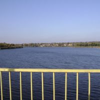 Ульяновка, вид с мостика, Ульяновка