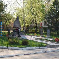 Памятник загиблим воїнам-афганцям, Ульяновка