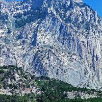 Ай-Петри. Вид с моря со стороны Алупки (Крым)., Алупка