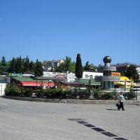 Čiernomorské pobrežie v Alušte, Алушта