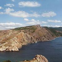 Пaнорама Балаклавы с 19-й береговой  батареи, Балаклава