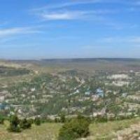 Вид на Балаклаву с вершины холма, Балаклава