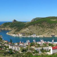Вид на Балаклаву (Balaklava bay), Балаклава