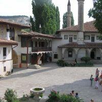Pałac chanów krymskich w Bakczysaraju, dziedziniec, Бахчисарай