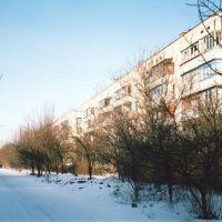 этажки на ул.Гагарина   февраль 2006, Белогорск