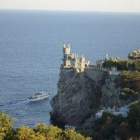 Замок Ласточкино Гнездо.Крым., Гаспра