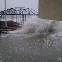 шторм в мисхоре в ноябре 2007, Гаспра
