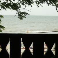 Гурзуф, Азовское море, вид с беседки., Гурзуф