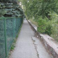 Урзуф 2009 дорога к морю., Гурзуф