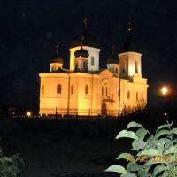 Церковь в Урзуфе ночью, Гурзуф
