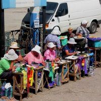 Street vendors, Dzhankoi, Джанкой