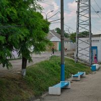 Західна платформа ст. Джанкой - West platform of Dzhankoy railway st., Джанкой