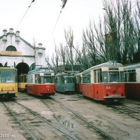 Depot der Straßenbahn Evpatorija, Евпатория