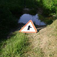 road sign, Зуя