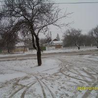 Zuya köy manzarası.Bakkal önü., Зуя
