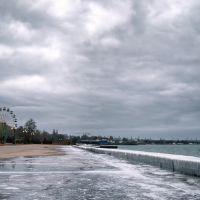 Crimea, Kerch - seafront 20.12.2008, Керчь
