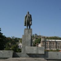 statue of Lenin in Kerch, Керчь
