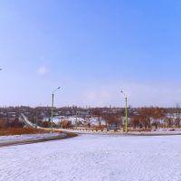 Кировск с востока, Кировское