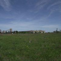 вид на обогатительную фабрику, Кировское