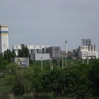 вид на шахту со ставка, Кировское
