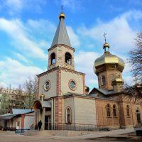 Church & belfry. Новый православный храм в Красноперекопске., Красноперекопск
