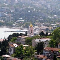 Вид с Поликуровского холма, Массандра