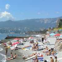 Hotel Yalta, on the beach, Массандра