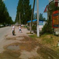 возле рынка, Нижнегорский