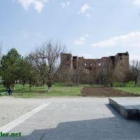 Памятник Ленину, вид на Пентагон, Нижнегорский, Ар Крым, Нижнегорский