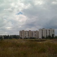 ул. Строителей, 10-этажка, карьер  29.07.2013, Первомайское