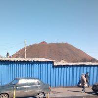 Террикон 10-й шахты 27.03.2012, Первомайское