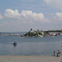 Przystan Grafska, view to the E, Севастополь