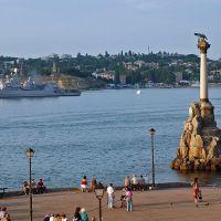 В праздник ВМФ, Севастополь