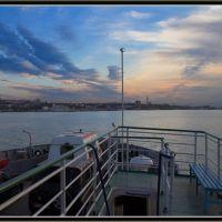 Вид с парома на Южную сторону, Севастополь