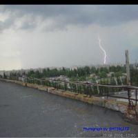 Молния, над Армянском
