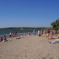 Щелкино, пляж, Щёлкино