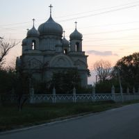 Церковь в Александровске. The church in Aleksandrovsk., Алексадровск