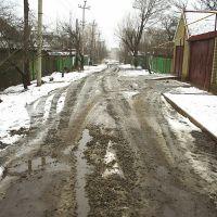 ул. Победы зимой, Антрацит