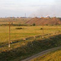 Подъезжаем к Алчевску, Артемовск