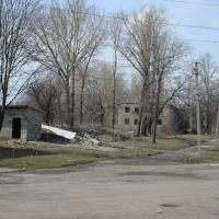 развалины на окраине, Артемовск
