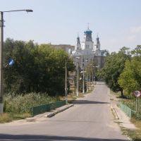 Церковь в Беловодске 2010.Church in Belovodske 2010., Беловодск