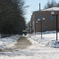 Зимняя Алея/Winter alley, Беловодск