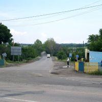 Ул. Чапаева, остановка на Лутугино, Белое