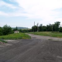 Вид на Белореченский терекон, Белое