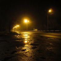 На Алчевск. Трасса после дождя, Белое