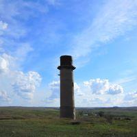 Заброшенная водонапорная башня, Белое