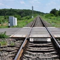 Железнодорожный переезд, Белокуракино