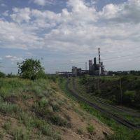 вид на шахту с севера, Бирюково