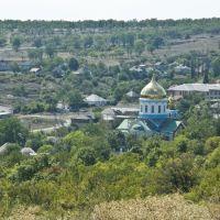 Kind on church(St. A.Nevskogo) from above.Вид на церковь Александра Невского 2009., Боково-Платово